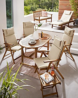 Summer 14pc Complete Garden Furniture Collection