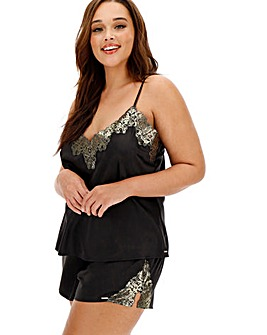 Figleaves Curve Night Magic Shortie Set