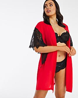 Figleaves Curve Adore Chiffon Short Kimono