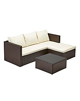 Coniston Rattan Corner Sofa