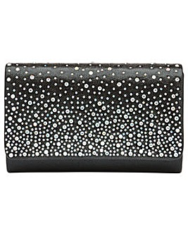 Ravel Myers Diamante Clutch Bag