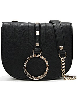 Versace Jeans Circular Logo Two Way Bag