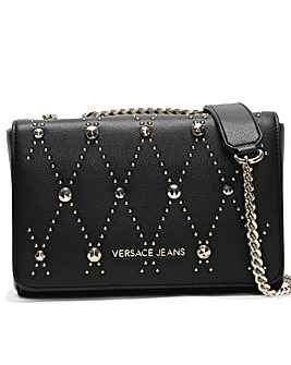 Versace Jeans Studded Shoulder Bag