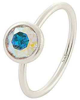 Accessorize Swarovski Solitaire Ring