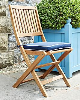 Georgia Folding Chair with Cushion