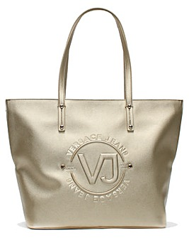 Versace Jeans Embossed Shopper Bag