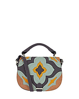 Accessorize Paddy Patchwork Saddle