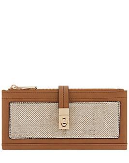 Accessorize Linen Soft Wallet