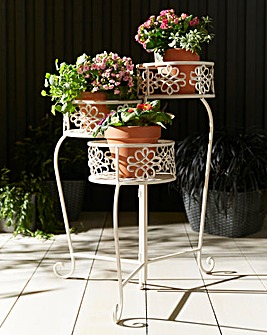 Butterfly 3 Tier Planter Stand