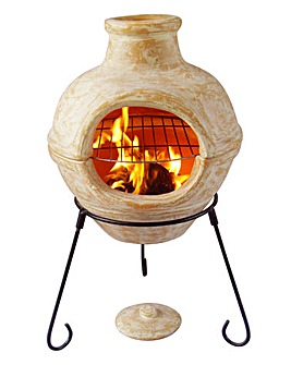 Cozumel Clay 2 in 1 Chimenea