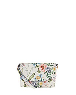 Accessorize Kenzie Floral Printed Xbody