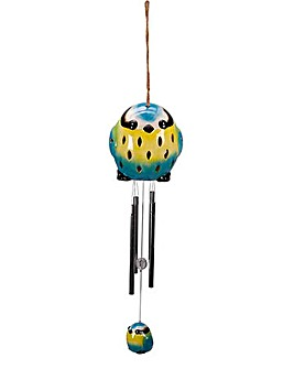 Ceramic Blue Tit Windchime