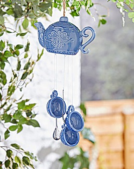 Teapot Ceramic Wind Chime