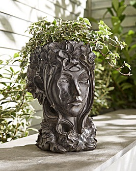 Fairy Head Flower Pot