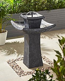 Pagoda Solar Fountain