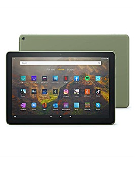 Amazon 2021 All New Fire 10.1in 32GB Tablet - Olive