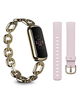 Fitbit Luxe SE Fitness & Wellness Tracker with Gorjana Band