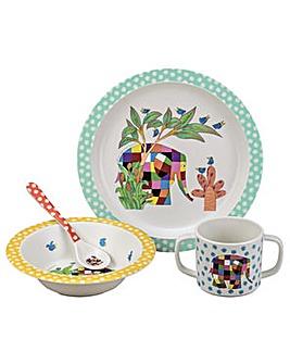 Petit Jour Elmer Elephant 4 Pce Gift Set