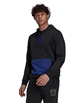 adidas Logo Fleece Hoodie