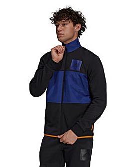 adidas Zip Fleece Track Top