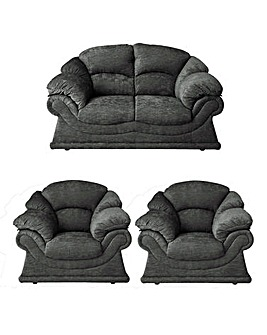 Vienna Two Seater and 2 Armchairs
