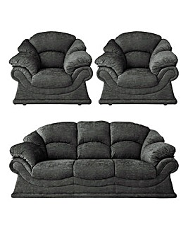 Vienna Three Seater and Two Armchairs