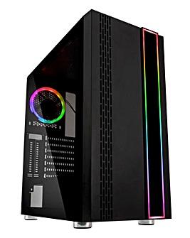 Stormforce Onyx Gaming PC - i3-10100F, 8GB, 140GB SSD, 1TB, GTX 1650