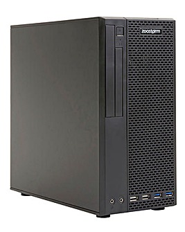 Zoostorm SFF - i3-10100, 8GB, 240GB SSD, Windows 10 Home, 365 Family
