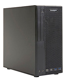 Zoostorm SFF Gaming PC - R5 3400G, 8GB, 240GB SSD, 365 Family