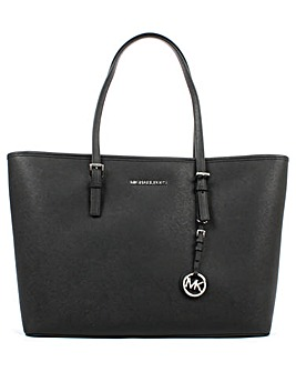 Michael Kors Leather Large Top Zip Tote