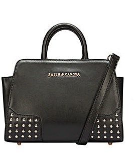 Smith & Canova Corner Studded Small Zip