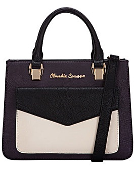 Claudia Canova Envelope Style Grab / Cross Body Bag