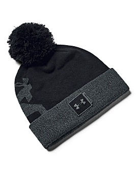 Under Armour Big Pom Logo Beanie