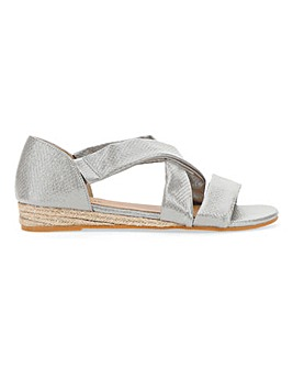 Soft Strap Espadrille Sandals D Fit