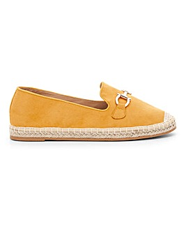 Trim Espadrille Loafers E Fit