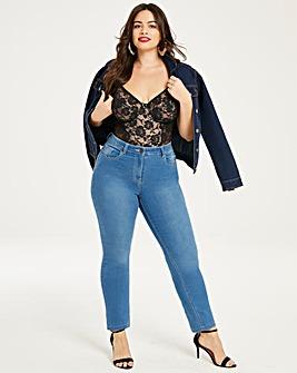 Lexi High Waist Slim Leg Jeans