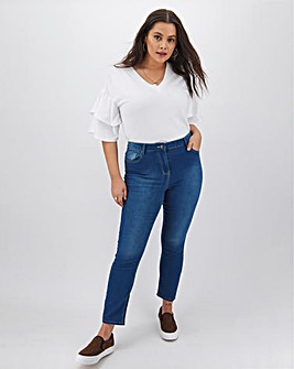 Lexi Super Soft High Waist Slim Leg Jeans Regular Length