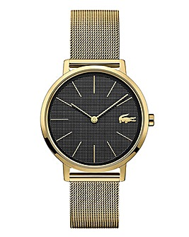 Lacoste Ladies Gold Plated Moon Watch
