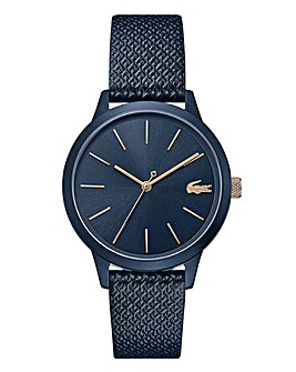 Lacoste Ladies Navy Strap Watch