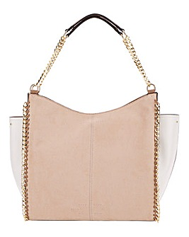 Chain Detail Panel Day Tote Bag