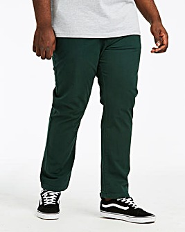 Forest Green Stretch Chinos 29in
