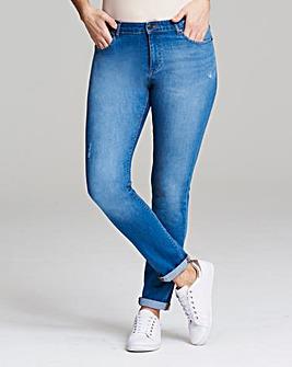 Sadie Relaxed Slim Leg Jeans Long