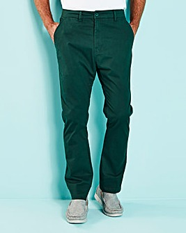 Forest Green Stretch Chinos 31in