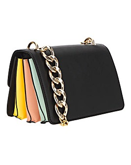 Pastel Chunky Chain Shoulder Bag