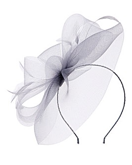 Misha Feather Accent Fascinator