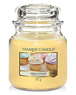 Yankee Vanilla Cupcake Medium Jar