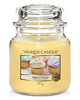Yankee Vanilla Cupcake Medium Jar