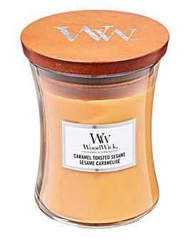 Woodwick Caramel Toasted Sesame Jar