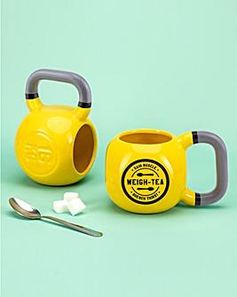 Kettlebell Shaped Mug