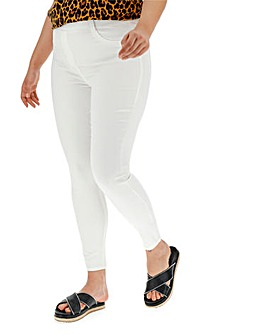 White Amber Skinny Jeggings